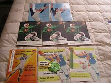 Vintage Palo Verde High School  Football Programs 1956 1957 1958 1959  Lot 8