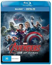 Avengers - Age Of Ultron (Blu-ray+Digital Copy)FACTORY SEALED & FREE POSTAGE