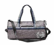Victoria's Secret PiNK Duffle Tote Bag Overnight Gym Beach Gray Marled NWT