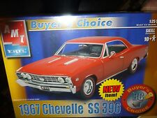 AMT 1967 CHEVY CHEVELLE SS 396 BC Model Car Mountain 1/25 FS