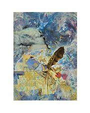 H. Volk Liebesbrief Poster Kunstdruck Bild 50x40cm