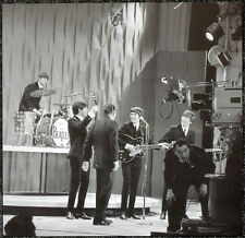 THE BEATLES POSTER PAGE 1964 RECORDING THE ED SULLIVAN SHOW JOHN LENNON . J20