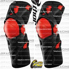 Thor 2016 Black Red Force XP Knee Guards Adult Protection S/M Motocross Enduro