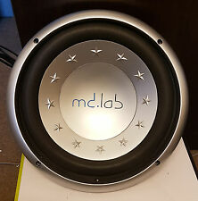 "MDLAB 12"" Car Audio Subwoofer - 200W RMS, 400W Max"