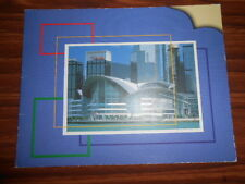 VTG 2000s Hong Kong Convention Center Photo Holder -  Holds Polaroid Size Photo