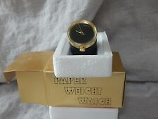 Vintage Paper Weight Watch LBS Lexington Broadcast Systems TV Television MIB
