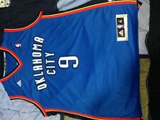 Serge Ibaka blue Oklahoma City Thunder jersey size xl used