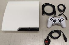 Ps3 Slim White 320gb (upgraded to 500gb) inc 1 controller Bundle