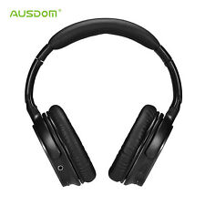 AUSDOM M06 Wireless Bluetooth 4.0 Headset Stereo Deep Bass Headphones Headband