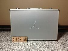 AIR JORDAN 17 XVII Briefcase Suitcase Metallic Aluminum Retro Rare Limited 1 3 4