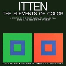 The Elements of Color by Johannes Itten (1970, Hardcover) LN