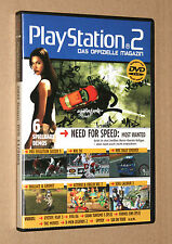PS 2 revista oficial demo DVD Soul Calibur 3 Wallace & Gromit pes NHL 11/2005