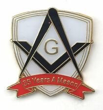 35 Years a Mason Masonic Commemorative Lapel Pin Badge *Exclusive*