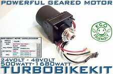Power Geared Electric Ebike Motor 500Watt 1000Watt 1500Watt 24volt 36volt 48volt