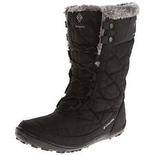 Columbia 7796 Womens Minx Mid II Omni-Heat Black Winter Boots Outerwear 5 BHFO