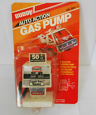 Vintage 1978 Buddy L gas pump toy  unused item still sealed on card