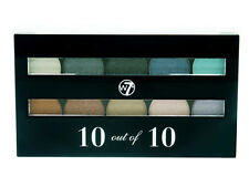 W7 10 out of 10 Eyeshadow Palette Set - Assorted Shimmers
