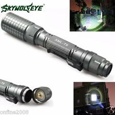 Zoomable 9000 Lumen Flashlight 5 Modes CREE XML T6 LED Torch Lamp Light 18650