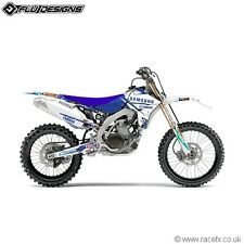 YAMAHA YZF 450 FULL SAMSUNG TEAM GRAPHICS KIT YZF450 YZ450F 10 11 12 13