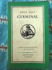 Penguin Classics L45 Germinal by Emile Zola 1954 family saga France