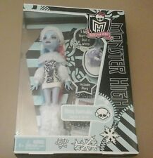 Monster high rare wave one abbey bominable core poupée first wave new in box