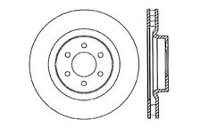 Disc Brake Rotor-Drilled and Slotted Brake Rotors Centric fits 92-02 Dodge Viper