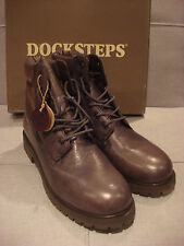 DOCKSTEPS MEN'S ROCCIA MID 1636 LEATHER MUSK SHOES BOOTS SIZE 12 - BRAND NEW