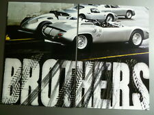 Porsche RS-60 Spyder Type 718 Showroom Advertising 2 Poster Set RARE!! Awesome