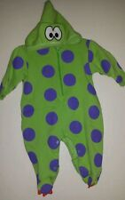 Le Top 9M Dragon Costume Baby Lizard Body Suit Infant Dress Up Dinosaur Green