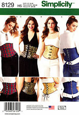 Simplicity Sewing Pattern 8129 Women's 6-14 easy Corsets - Andrea Schewe