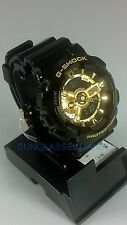 NEW G-SHOCK GA110GB-1A CASIO XLARGE BLACK W/ GOLD LIMITED MEN'S WATCH
