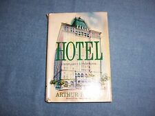 HOTEL by Arthur Hailey/1st Ed/HCDJ/Literature/Fiction/Drama