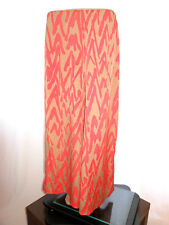 Womens Vtg 70s Boho Hippy Festival Wide Leg High Waist Pants Trousers sz M/L AH1