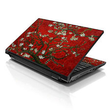"17.3"" 18"" 19 Laptop Notebook Skin Sticker Protective Decal Red Almond Trees A134"