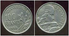 100 francs  1958   cochet  ( 1 )