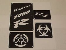 Yamaha RAPTOR  1000 R1 700 660 Fender Warning Tags  Fits 660 and 700 2001-2012