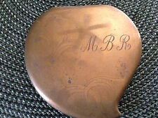 Vintage Ladies Powder Compact Elgin American  Pre-Owned Monogrammed M B R