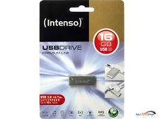 Intenso Premium Line 16GB USB Stick Highspeed USB 3.0 silber 16 GB 3534470 OVP