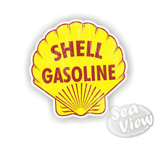 Retro Shell Gas Fuel Car Van Stickers Decal Funny Sticker