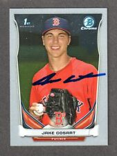 2014 BOWMAN CHROME CDP 101 Jake Cosart  BOSTON RED SOX SIGNED AUTOGRAPH AUTO COA