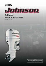 Johnson Outboard Owners Manual 2005 2-Stroke / 90, 115, 150, 175 HP / Model PL