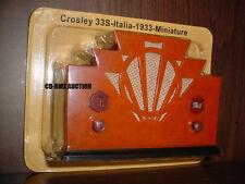 CROSLEY 33S ITALY RADIO 1933 MINIATURE