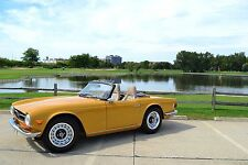 1972 Triumph TR-6 upgraded