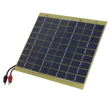 Waterproof 5W 12V Volt Solar Panel Trickle Charger Boat Car Battery Brand New