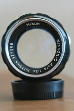 NIKON NIKKOR Q AUTO 135MM 1:3.5 ZOOM LENS A VINTAGE CLASSIC IN EX-COND & GWO