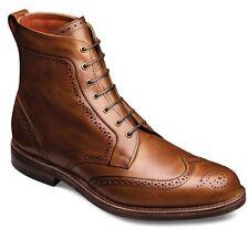 Allen Edmonds Mens Dalton Wingtip Dress Boots Brogue 10.5 Style 1111 Walnut NEW