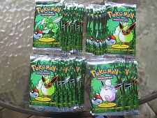 1st Edition Jungle Pokemon Booster Packs... All 3 Artworks..40 Packs