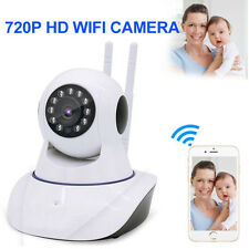Wifi Wireless Pan Tilt 720P IP Camera Security Network CCTV Night Vision Webcam