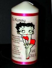 Cellini Candles Personalised Betty Boop Gift Mother Birthday Present Mum Her