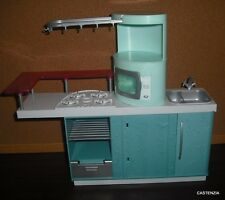 FURNITURE MATTEL BARBIE 2006 KITCHEN PLAY-SET WITH SINK,STOVE AND MICROWAVE 1029